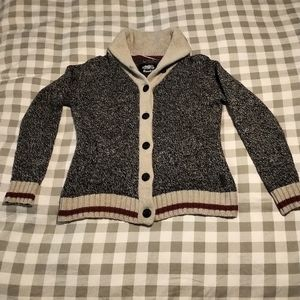Roots Cardigan Sweater - Large